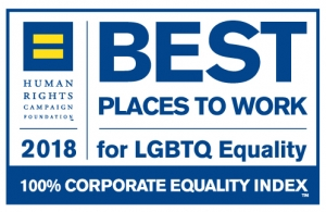 HRC Best Places to Work for 2018 logo