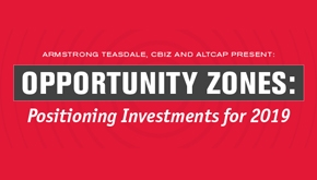 Opportunity Zones event graphic