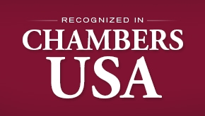Recognized in Chambers USA