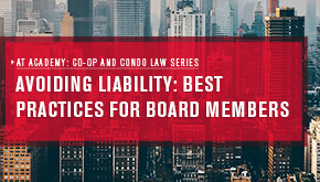 AT Academy: Avoiding Liability: Best Practices for Board Members
