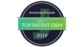 Armstrong Teasdale is a Juristat 2019 Top Patent Firm