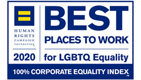 2020 Best Place to Work for LGBTQ Equality
