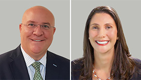 Attorneys Michael Engle and Ashley Shapiro