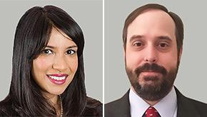 Molly Ahmed and Corey Stegeman